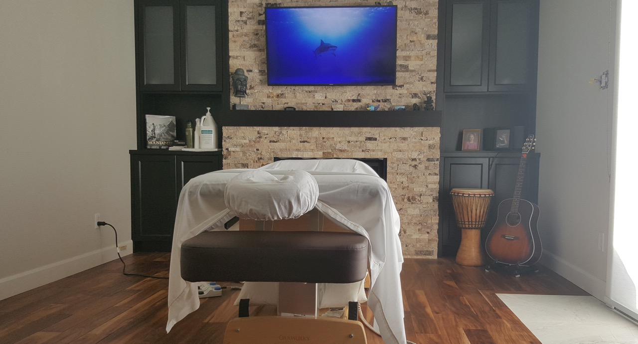 Kitchener massage therapy treastment room 6